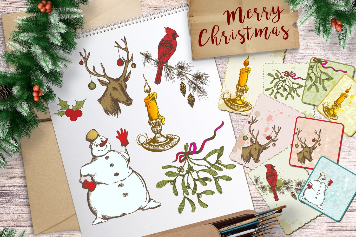 Holiday Stickers and Cards   Printing New York
