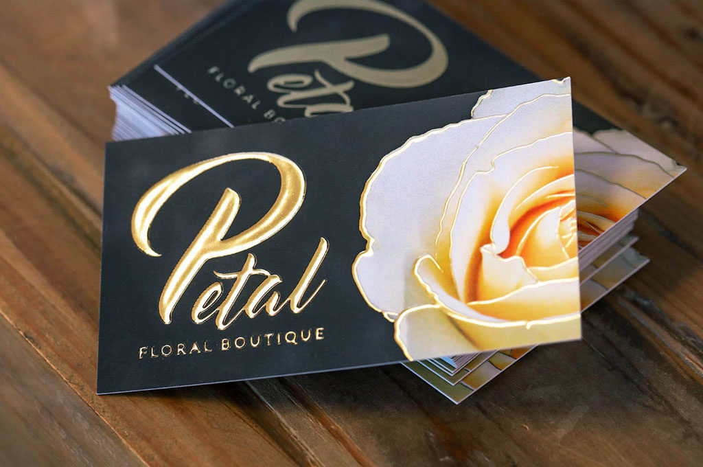 Raised Foil Business Cards Printing New York 3
